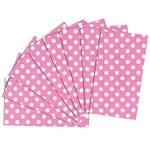 Tissue Papier Polka Dots Rose