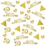 Confetti 50 Happy Anniversary