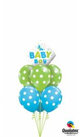 New Baby Boy Dragonfly Ballonnen Boeket