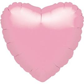 Folieballon hart pink