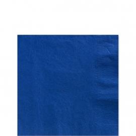 Dessert Servetten Donker Blauw