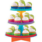 Multi Colour Cup Cake Stands