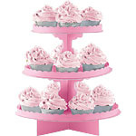 Rose  Cup Cake Stands
