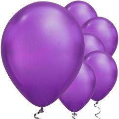 Chrome Ballonnen Paars