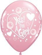 Ballon Yep i´m a Girl