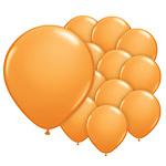5 inch (12cm) ballonnen oranje