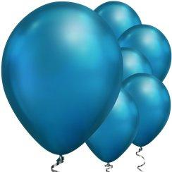 Chrome Ballonnen Blauw