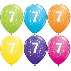 Helium ballon leeftijd 7 jaar
