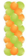 Ballonnenpilaar zonder topballon