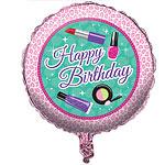 Sparkle Spa Party Folie Ballon