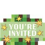 TNT Minecraft Uitnodigingskaarten