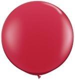 3ft (90cm) ballon rood