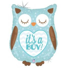 Its a Boy Owl Foil
