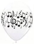 Ballon music notes