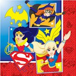 DC Super Hero Girls Servetten