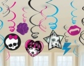 Monster High Hanging Swirls