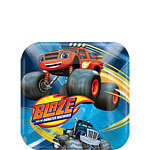 Blaze and the Monster Machines Dessert Borden