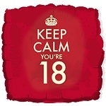 Keep Calm its your 18th
