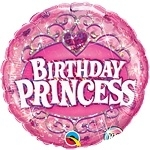 Birthday Princess Foil