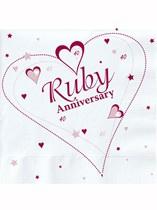 Servetten Ruby Anniversary