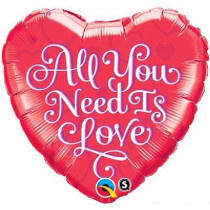 Al You Need Is Love Foil