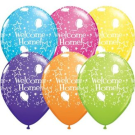Ballon welcome home