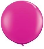 3ft (90cm) ballon standaard kleur
