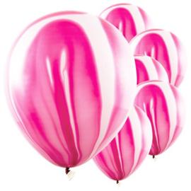 Marmer Ballon Fuchsia