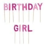 Birthday Girl Kaarsjes