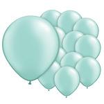 5 inch (12cm) ballonnen mintgroen