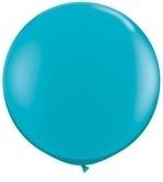 3ft (90cm) ballon turqouise