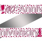 Banner 40th Anniversary