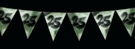 Vlaggenlijn  25  jaar getrouwd