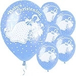 Baby Christening Ballon Blauw
