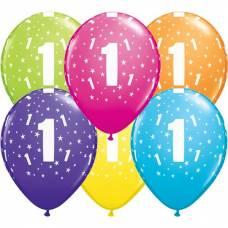 Helium leeftijd ballon 11 inch (28cm)