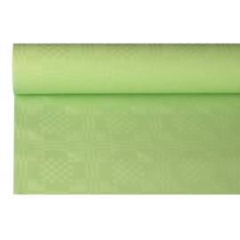 Tafelkleed Damast Papier Appel Groen