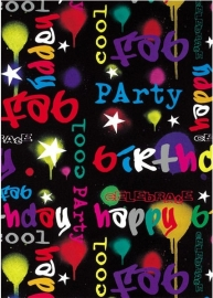 "Cadeaupapier ""Birthday Party"""