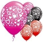 Ballon Dubble hearts
