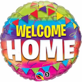 Welcome Home Pennants Folie Ballon