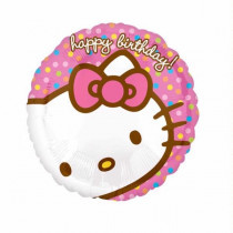 Hello Kitty Happy Birthday Folie Ballon