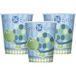 Turtle 1st Birthday Bekers