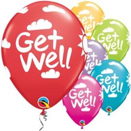 Ballon get well soon