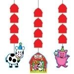 Barnyard Bash Party  Hanging Decoration