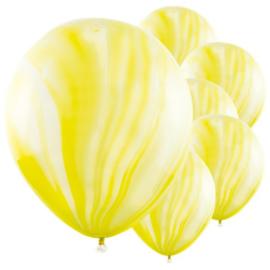 Marmer Ballon Geel