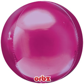 Fushcia Orbz Ballon