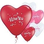 Ballon I love you hearts