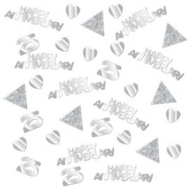 Confetti 25 Happy Anniversary