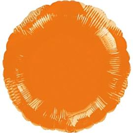 Folieballon rond oranje