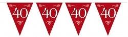 Vlaggenlijn 40 Jaar Robijn