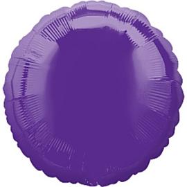 Folieballon rond paars